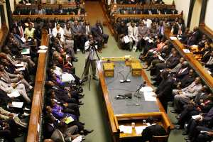 ZIMBABWE-POLITICS-TSVANGIRAI-PARLIAMENT